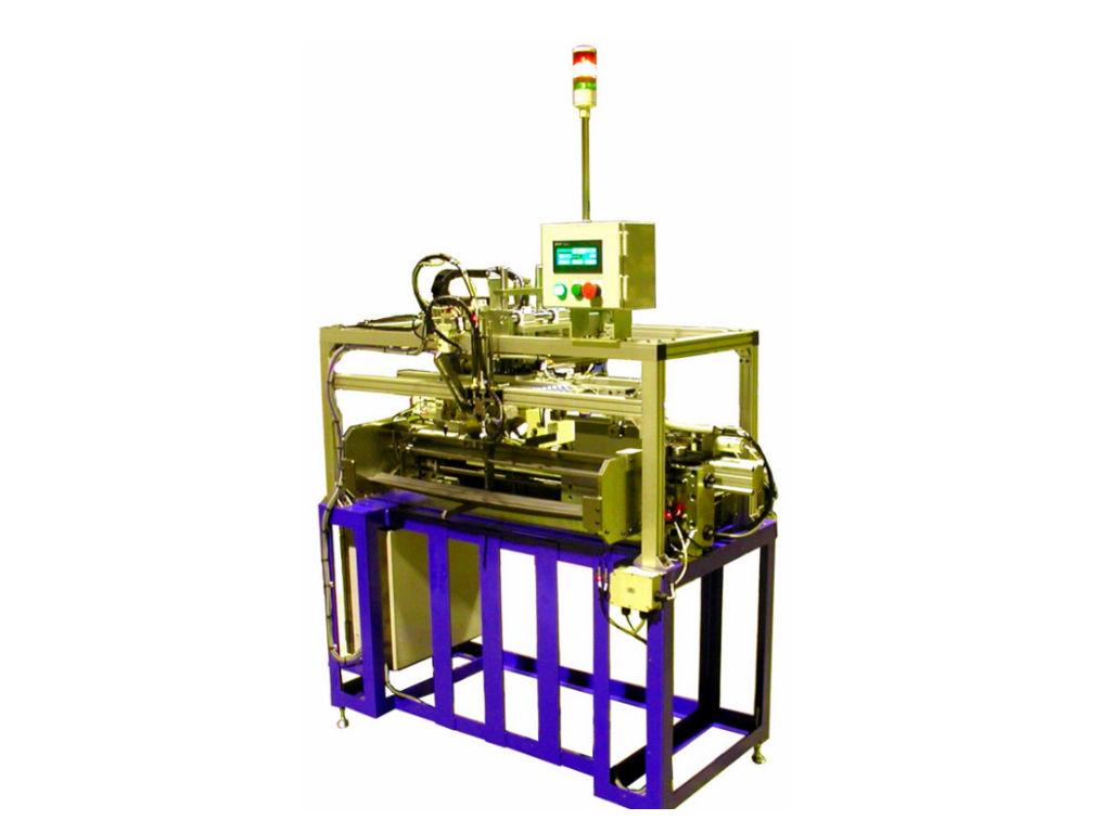 カット材用インサート ワイヤー成形機(TWC-2-1000)